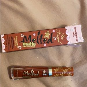 Too faced gingerbread girl lip
